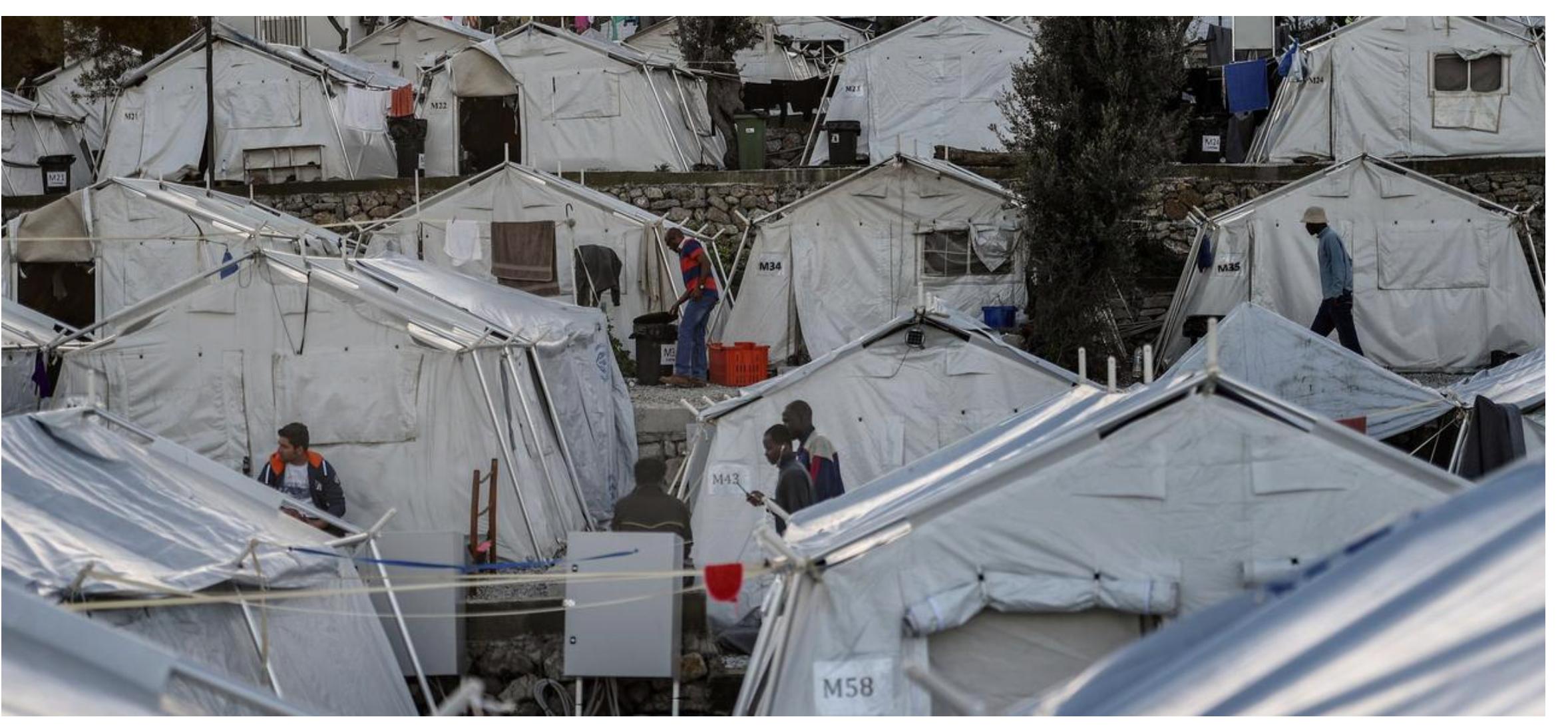 La grecque Lesbos ne fait plus rêver les touristes, devenue une terre à migrants