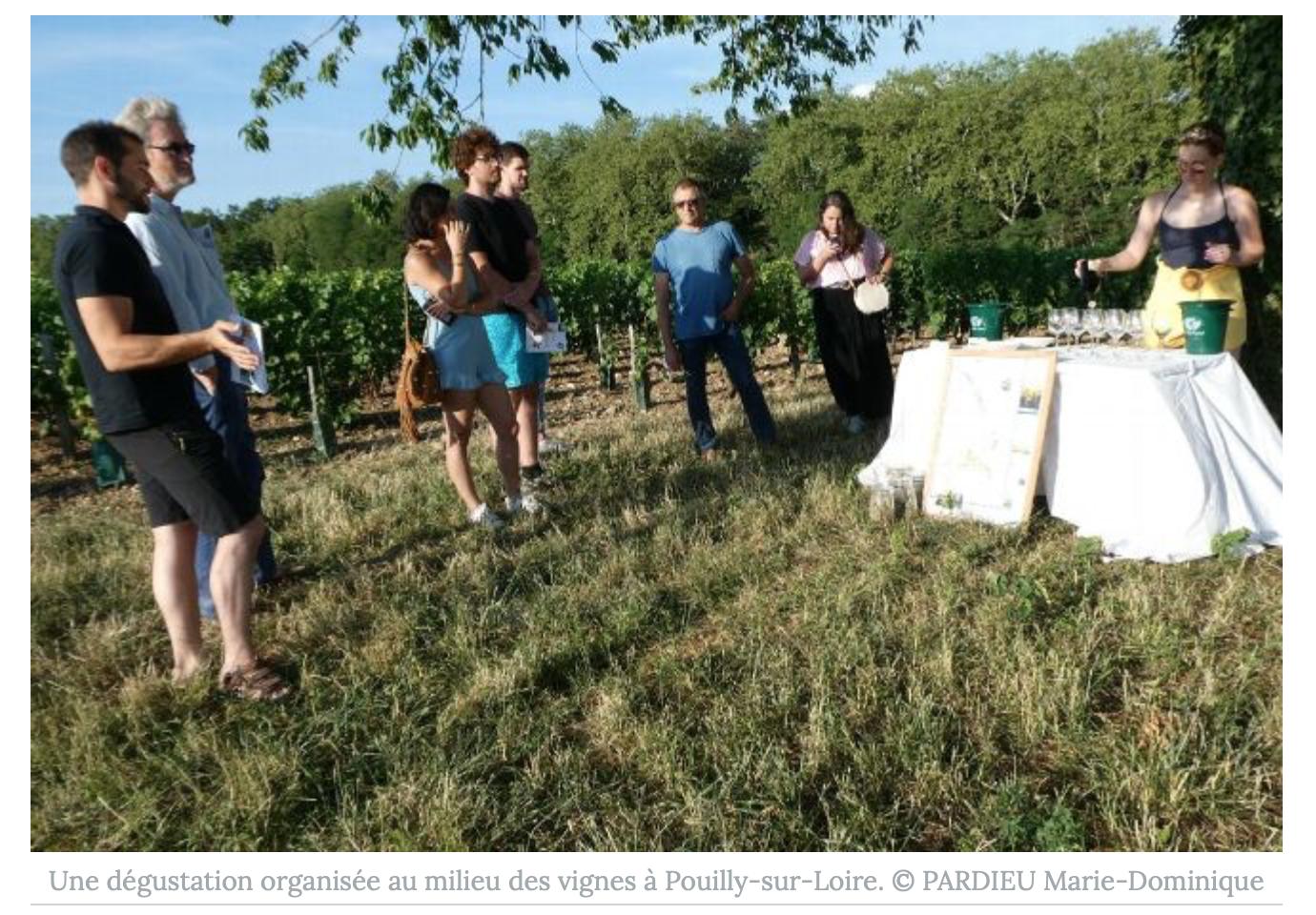 Le macron se cause couramment dans beaucoup d'endroits : «It's Wine Time»
