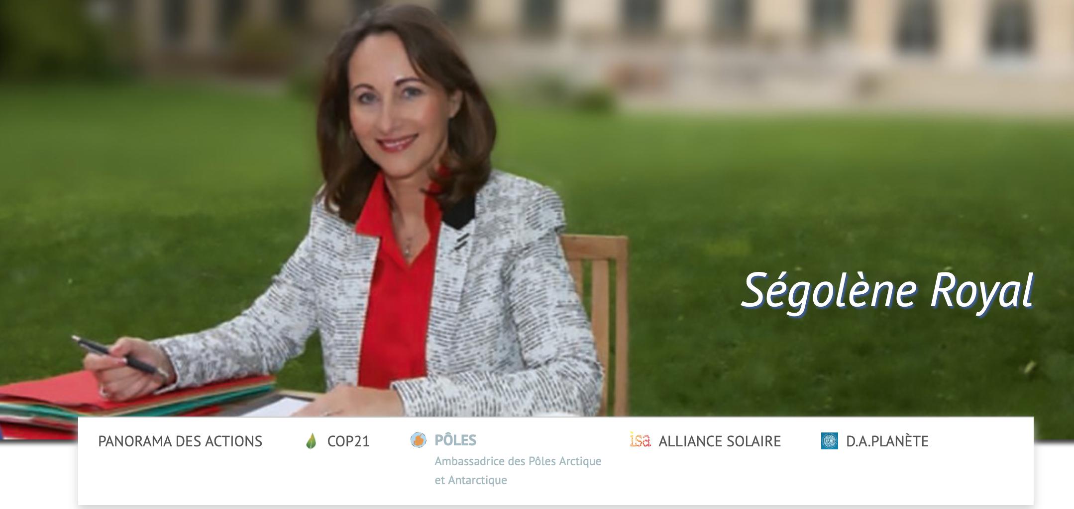 Ségolène Royal payée 42000 euros comme ambassadeur des pôles pour ne rien faire !