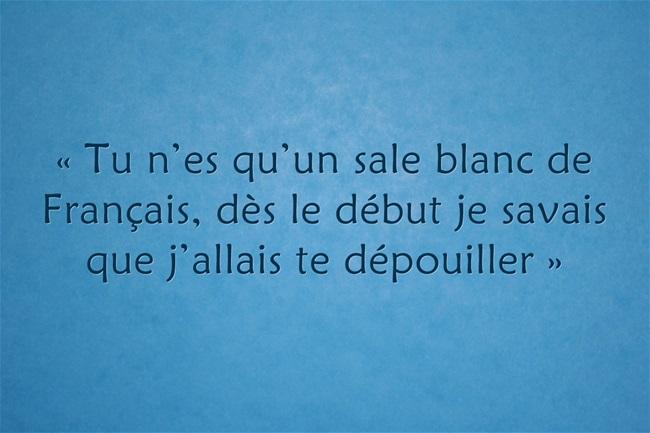 «Sale blanc de Français» : pour Sopo et SOS racisme, ce n'est pas du racisme anti-blanc
