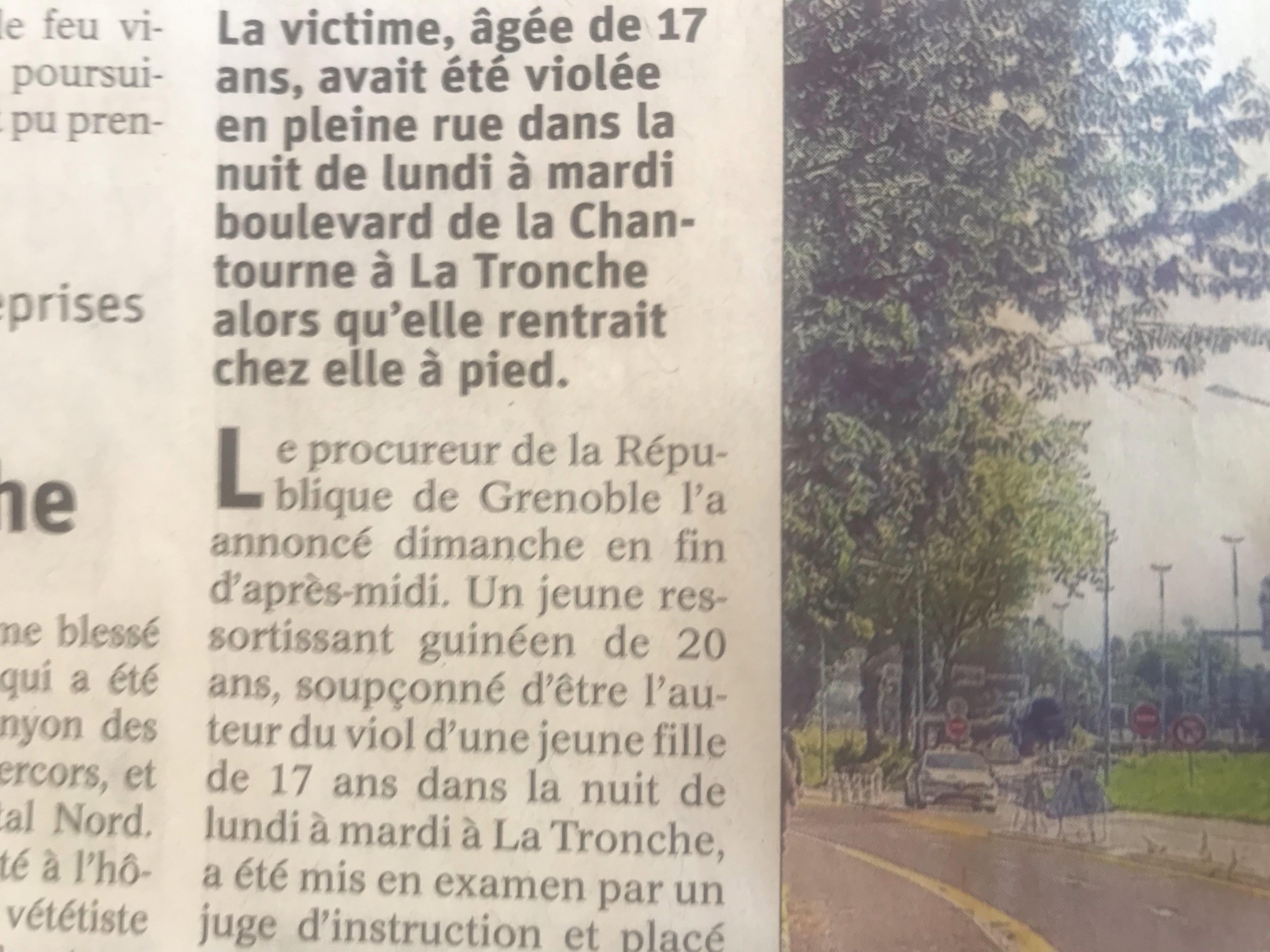 Viol d'une Française de 17 ans par un Guinéen :  l'immigration, pas une  chance pour les Françaises !