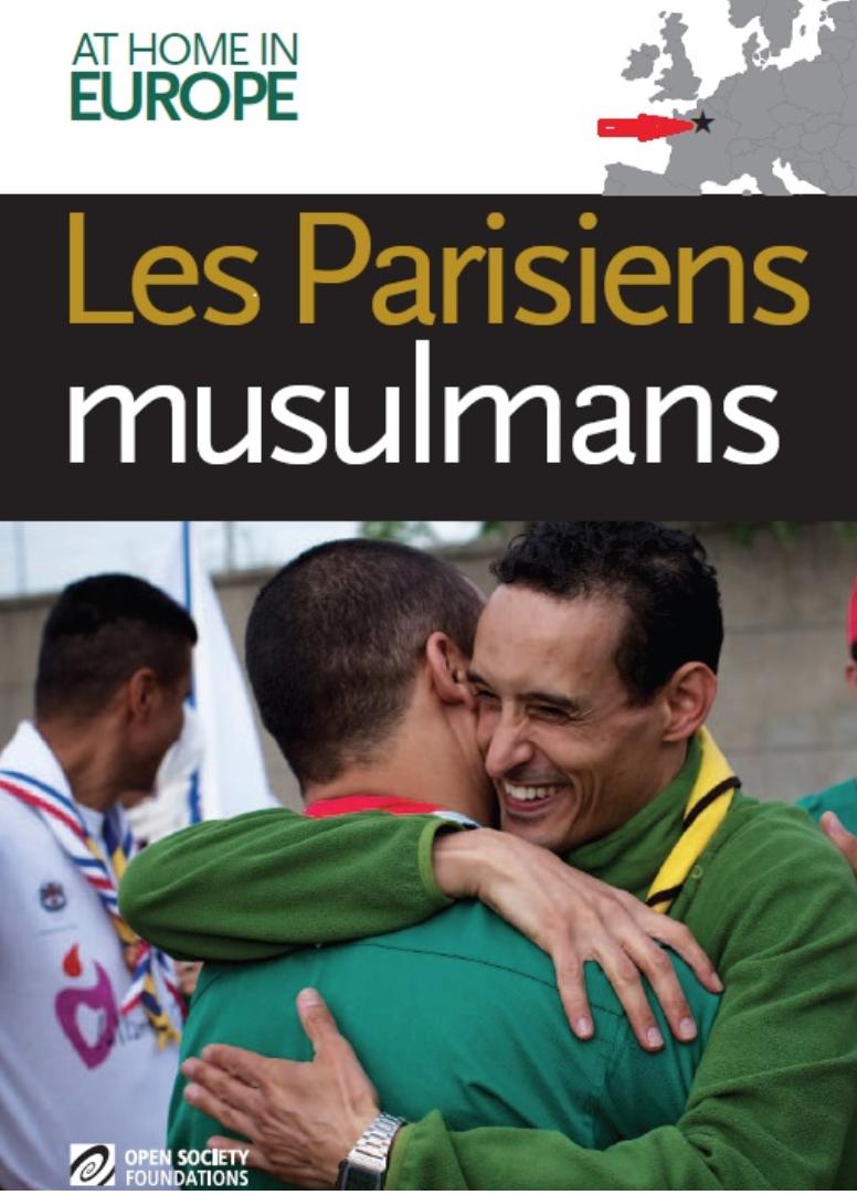 L'étoile islamique à la place de Paris sur la carte de l'Europe dans le projet de Soros