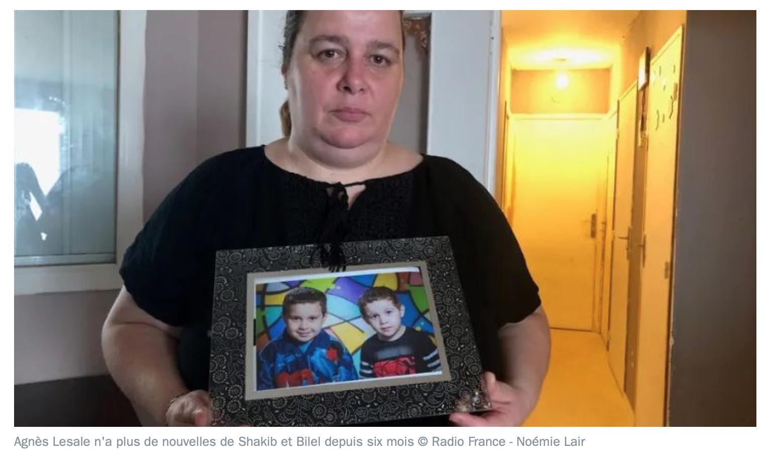 Agnès Lesale a 4 enfants au prénom algérien… et elle pleure parce que le père les séquestre  en Algérie