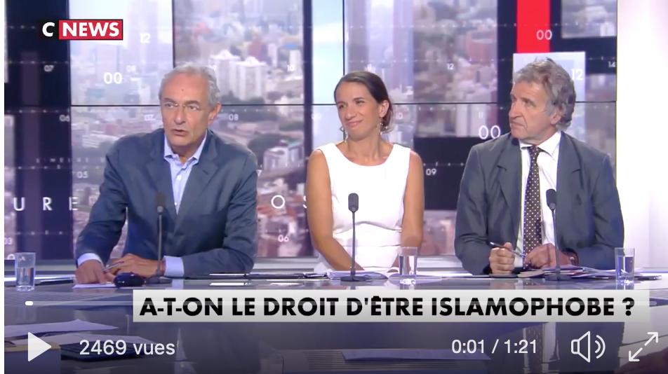 Islamophobie : le droidel'hommiste Georges-Marc Benamou attaque publiquement CCIf et Frères musulmans