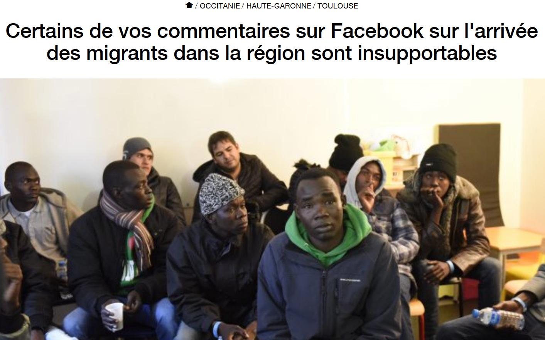 Quand France 3 – donc l'État – fait la morale à ceux qui s'opposent à l'invasion migratoire