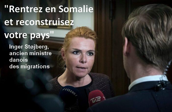 Danemark : l'ancien ministre demande aux Somaliens de «rentrer chez eux et de reconstruire leur pays «