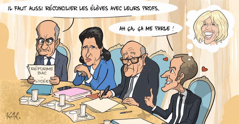 Fin de notre école… La «réforme» Blanquer devrait faire descendre des millions de Français dans la rue