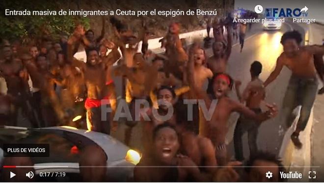 Grèceet Espagne: spectaculaires passages en force de migrants aux portes de l'Europe cette semaine