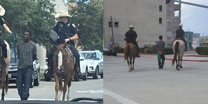 Texas: un délinquant attaché avec une corde et c'est le retour des «heures les plus sombres»…