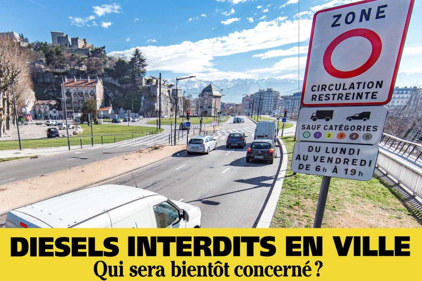 Paris, Grenoble, Strasbourg… ces villes qui veulent interdire le diesel
