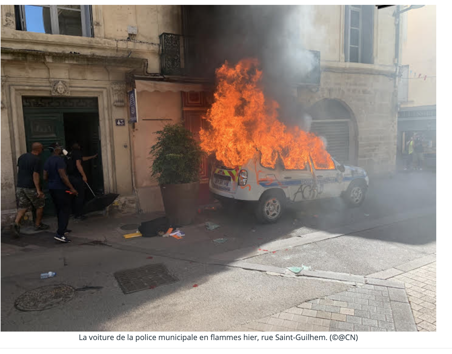 Montpellier : 500 black-blocs dans la rue… 13 arrestations !