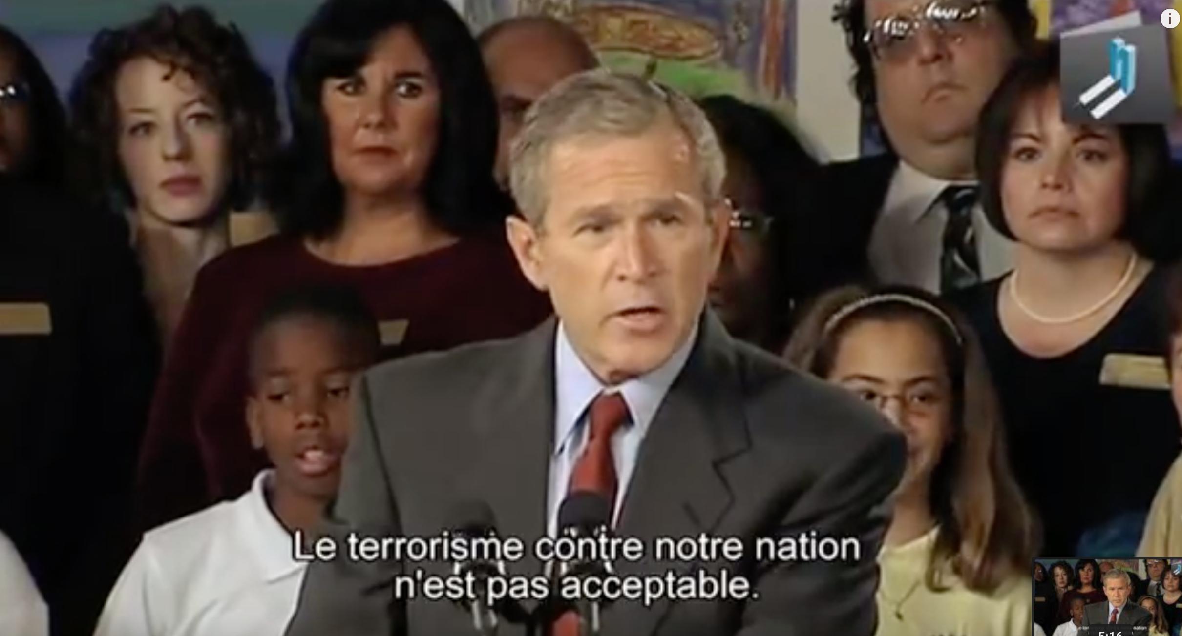Il y a 18 ans ils nous déclaraient la guerre : «ils» les remercient en les aidant à nous faire disparaître