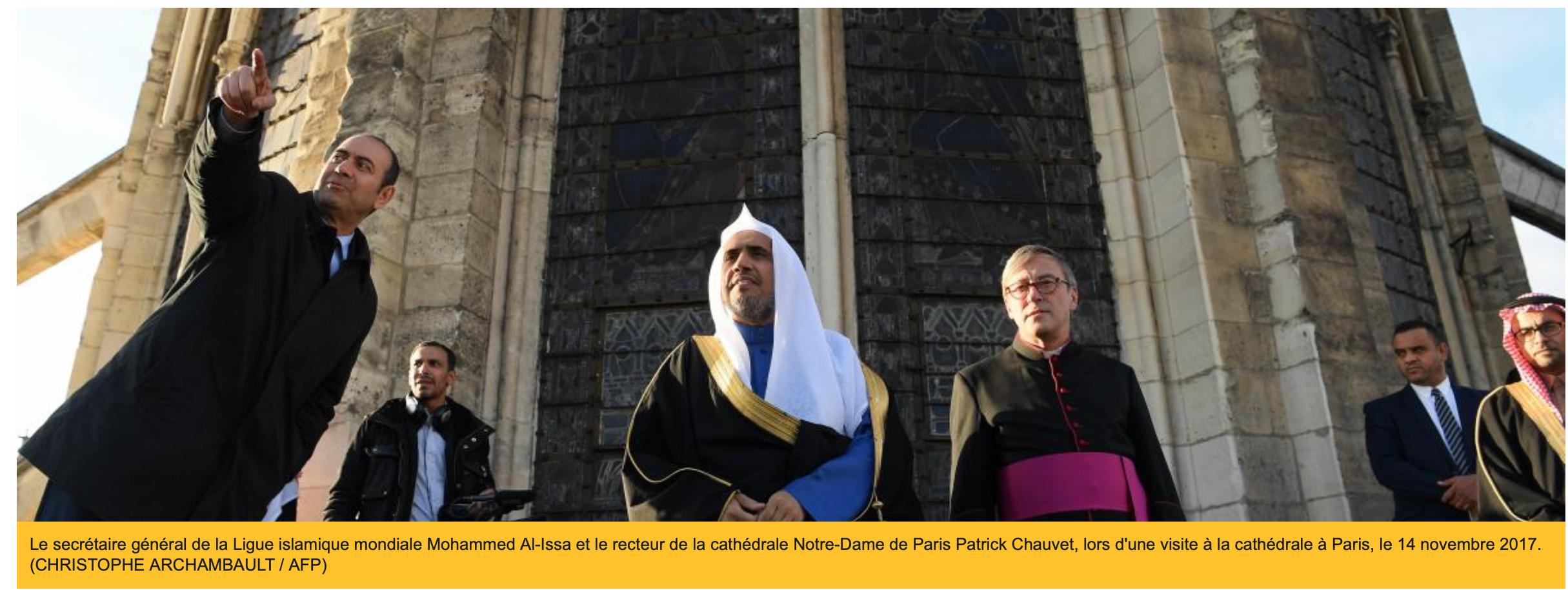 Ligue islamique mondiale : pas un journaleux pour dénoncer le cadeau de Macron aux terroristes saoudiens !