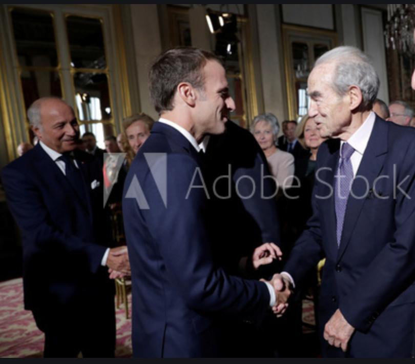 Retour du dinosaure Badinter pour soutenir Macron,  l'islam et le CCIF !