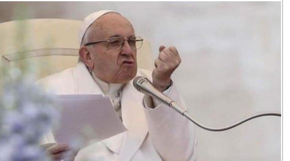 Le pape s'attaque aux souverainistes : ils veulent bloquer le métissage qui donne la vie aux peuples