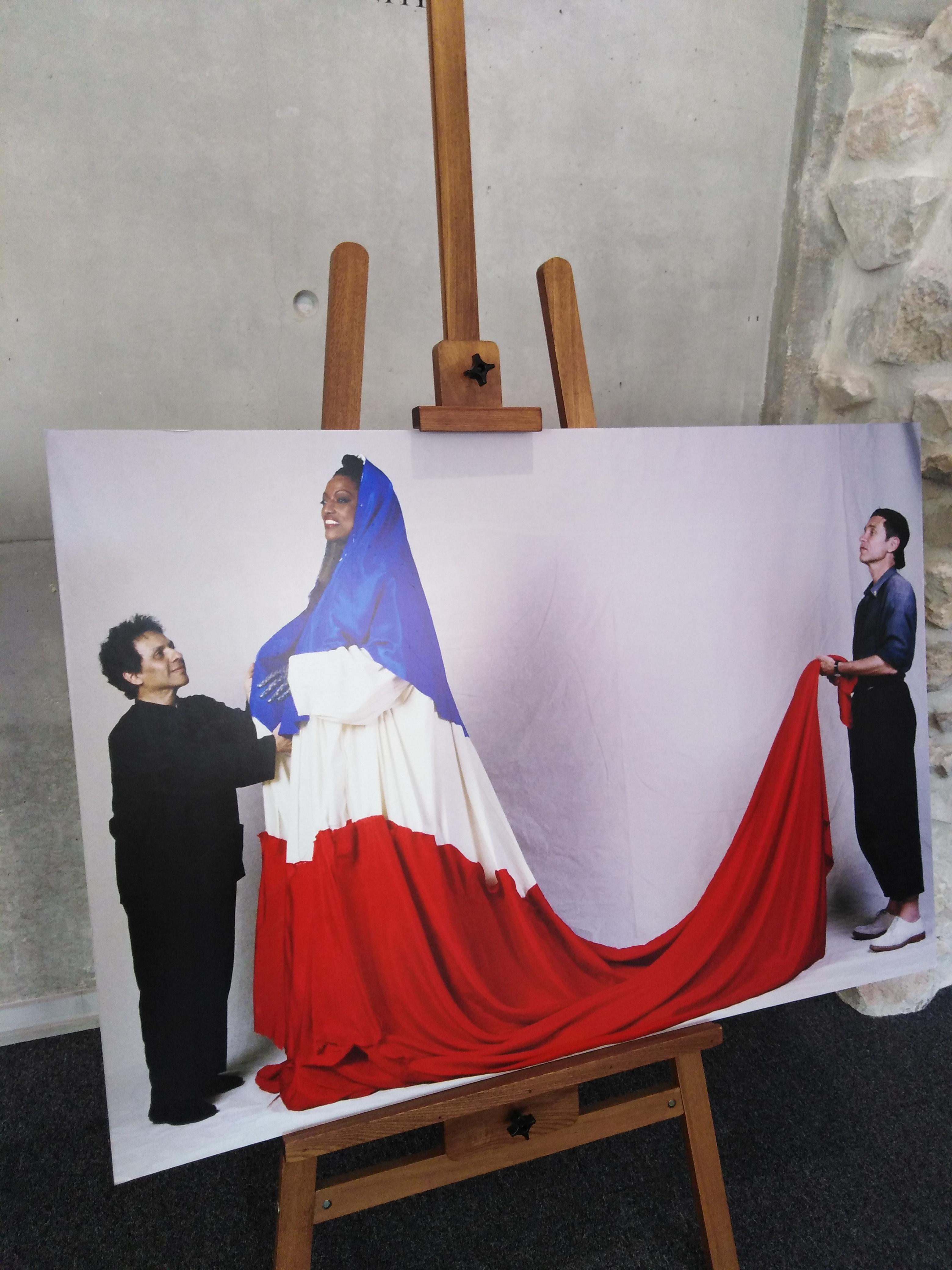 Marseille : au mémorial de la Marseillaise, Marianne est représentée par une Africaine enceinte !