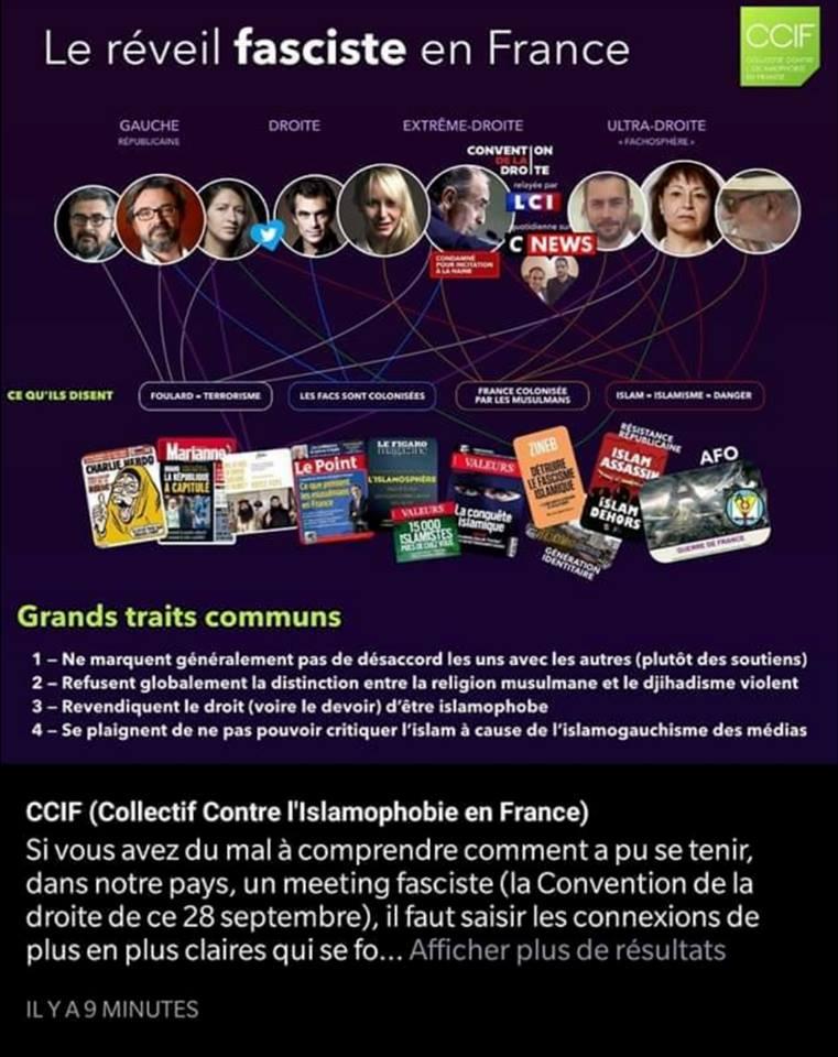 Aux armes médiatiques, citoyens ! Le CCIF ose exploiter la figure de Christine Tasin !