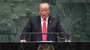 La traduction  par notre ami Jack du fabuleux discours de Trump à l'ONU