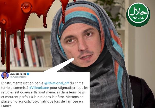 Villeurbanne : pour Taché, cela ne remet pas en cause l'immigration de musulmans, au contraire !