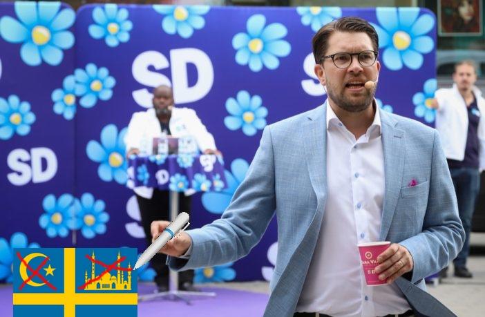 Suède : les Démocrates Suédois prônent l'immigration zéro et la remigration des migrants
