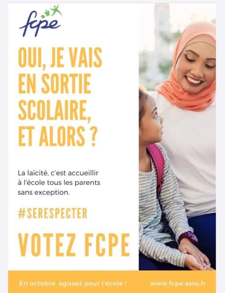 Accompagnatrices voilées : la FCPE de Corse du Sud fait sécession