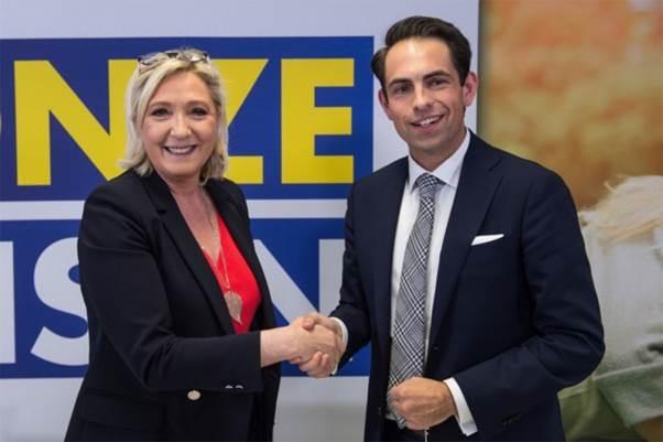 En Flandre, les 2 partis anti-islam et anti-Ue  reçoivent près de 50% des intentions de vote !