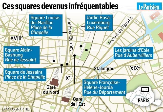 Propagande à Paris: Hidalgo fait mine de lutter contre le remplacement des familles par les migrants dans les squares