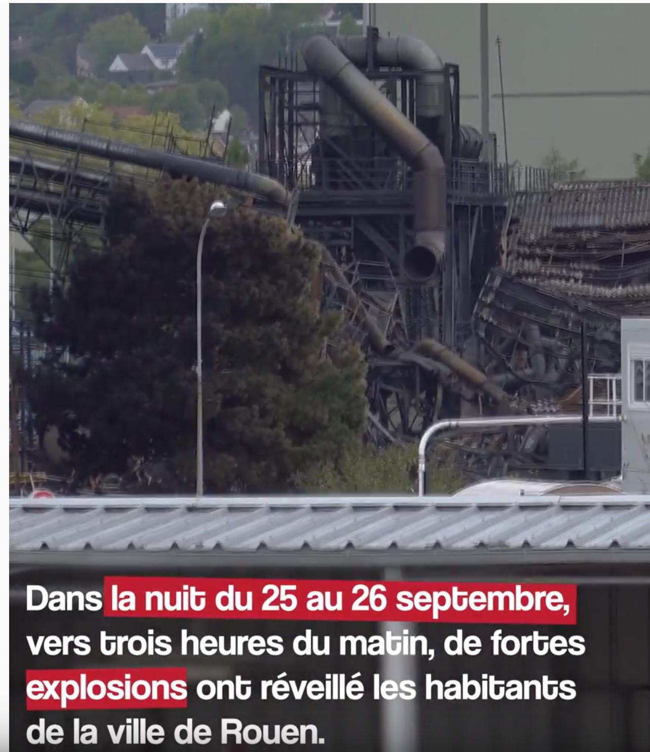 5250 tonnes de produits chimiques détruites dans l'incendie de l'usine Lubrizol : c'est anodin pour Buzyn