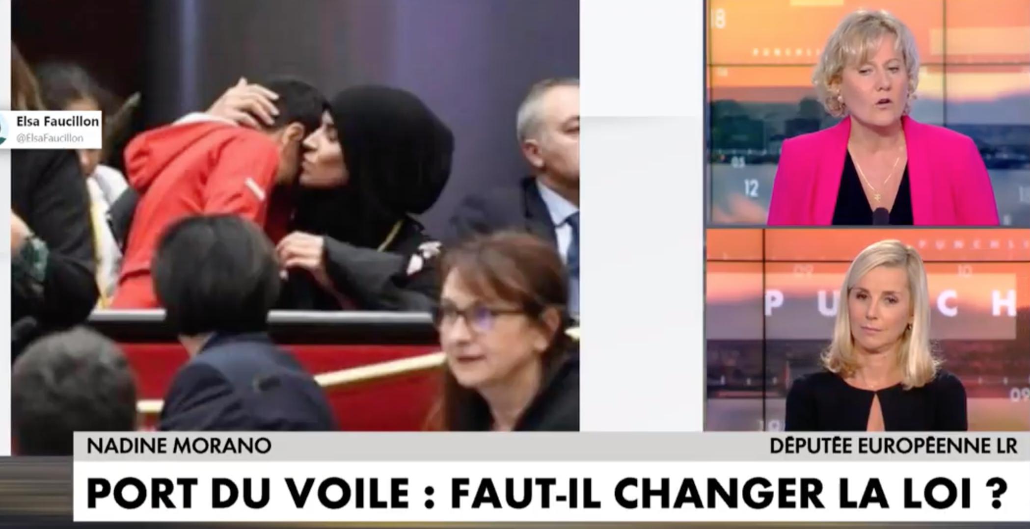 Coup de chapeau à Nadine Morano qui vole au secours de Julien Odoul : nous avons un problème avec l'islam