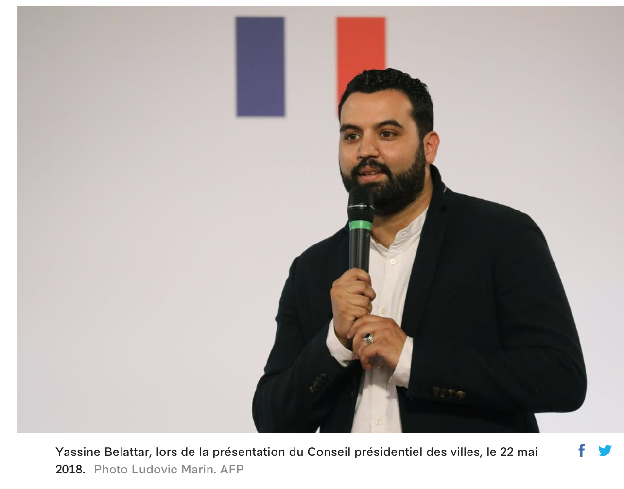 Lettre du musulman modéré Belattar : «les musulmans, c'est la marijuana des Français «