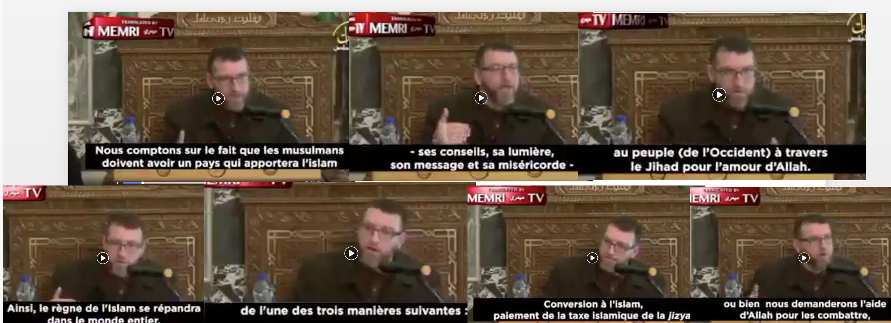 L'imam de la mosquée Al-Aqsa  «en 2050, la France sera un pays islamique»