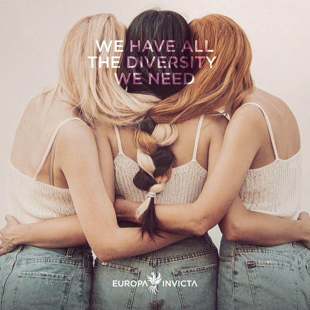 La page Europa Invicta censurée par Facebook, réseau social qui soutient l'ethnocide des Européens