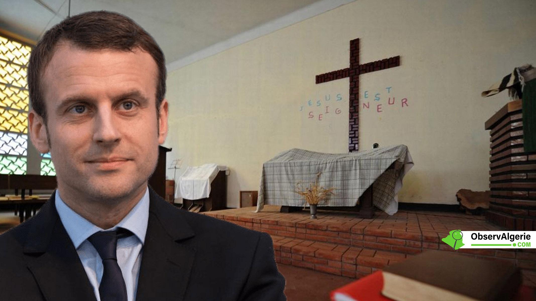 Musulmans d'Algérie : inch Allah, Macron nous soutient contre ces chiens de Kabyles chrétiens