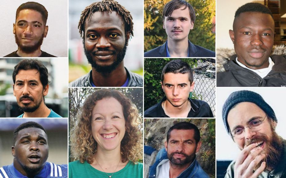 Au Parisien, les nouveaux héros français se prénomment Mamoudou, Abdelkader ou Demba