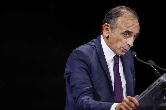 Le parquet de Paris ouvre une enquête contre Zemmour pour « injures publiques » et « provocation à la haine »