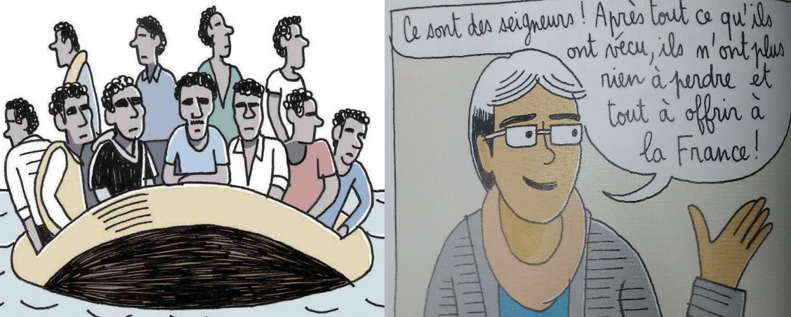 Dans le magazine Phosphore, les migrants sont des «seigneurs»