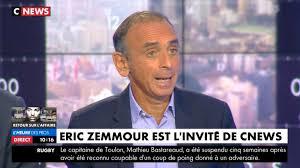 Zemmour sur C-News, lundi 14 octobre  à 19 h : des abrutis de LREM boycottent et c'est tant mieux !