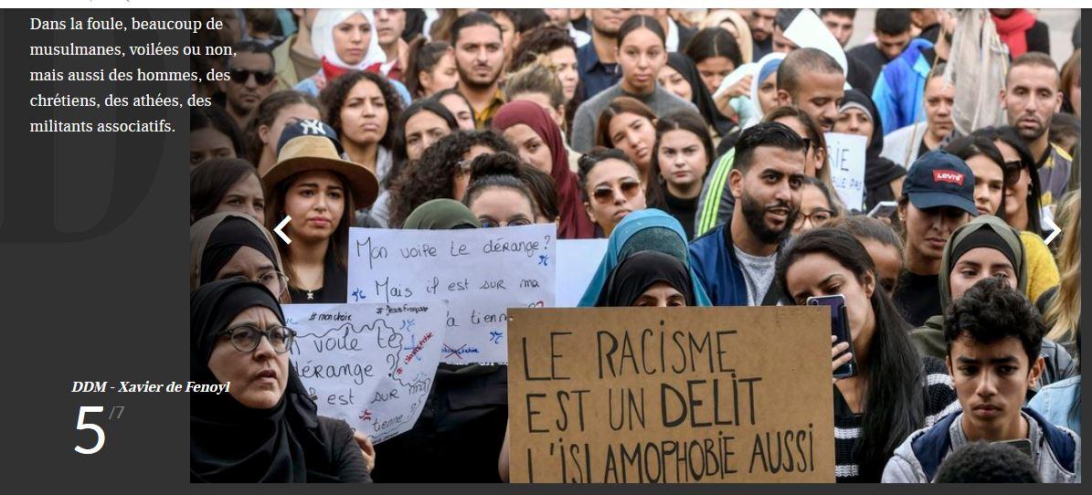 Toulouse : les voilées font l'unanimité contre elles après leur manifestation de pleureuses