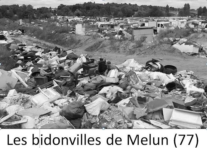 Des bidonvilles de migrants en France ? Oui, à Melun (77)par exemple