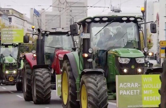 Allemagne et Pays-Bas : les agriculteurs en ont marre des directives de l'UE