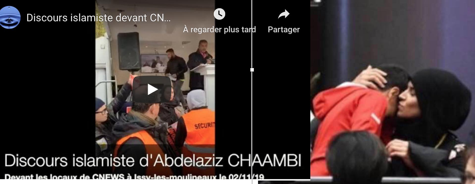 La voilée du Conseil Régional, une proche de Chaambi qui a fait le scandaleux discours devant CNews ?