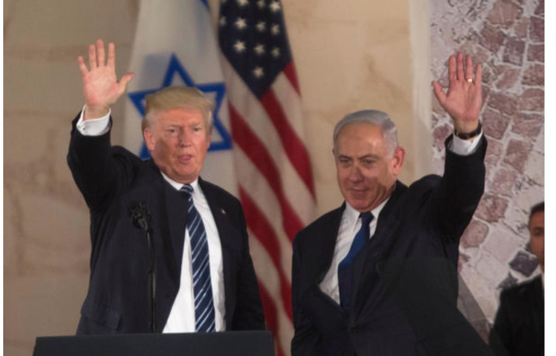 Un évènement majeur : Trump officialise la légalité de «l'occupation» par Israël de la Cisjordanie