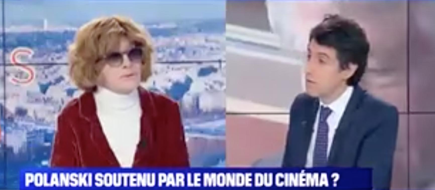 Polanski : volte-face de la gourdasse Nadine Trintignant, qu'est-ce qu'elle risque, à 85 balais ?