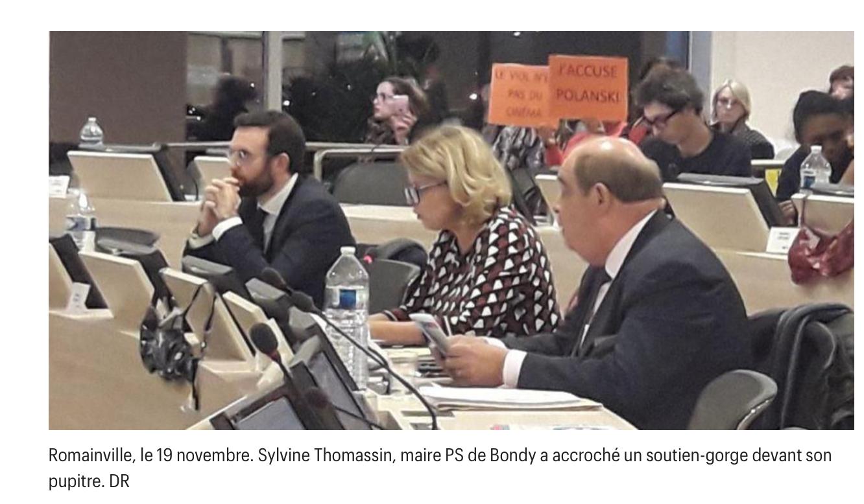 J'accuse : le maire Sylvine Thomassin décide pour les Bondynois de ce qu'ils doivent voir au cinéma