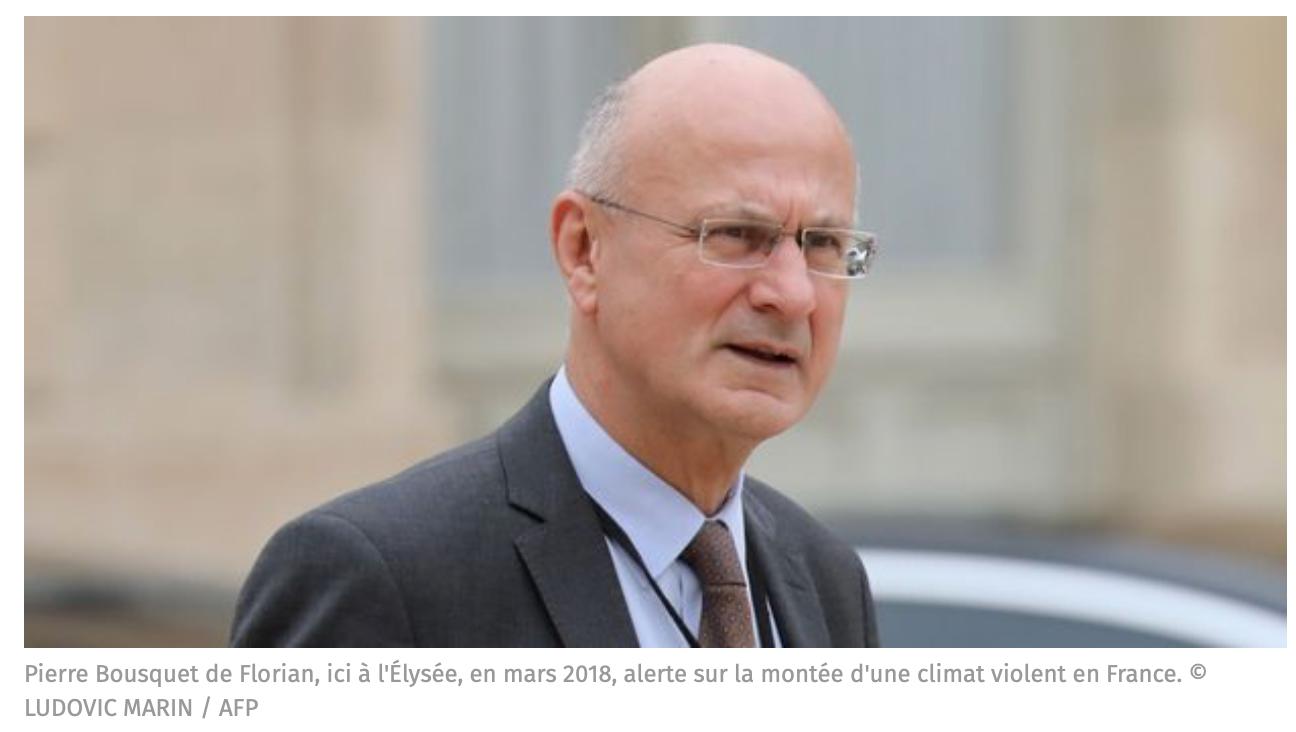 Le coordonnateur du renseignement : «les Français ne veulent pas se laisser islamiser, c'est un scandale»