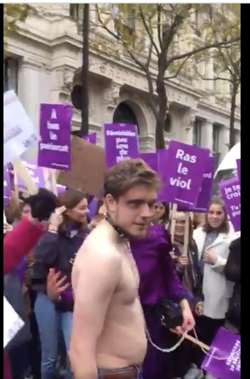 Pierre Cassen : manif des femmes de gôche contre le viol : j'y étais ! (video)