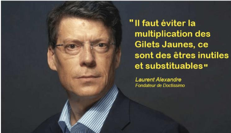 Le macronien Laurent Alexandre : les musulmans seront majoritaires en France !  Vos gueules les mouettes