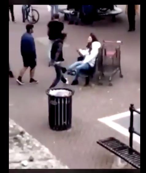 L'horreur du soir à Londres : des migrants attaquent une adolescente en pleine rue