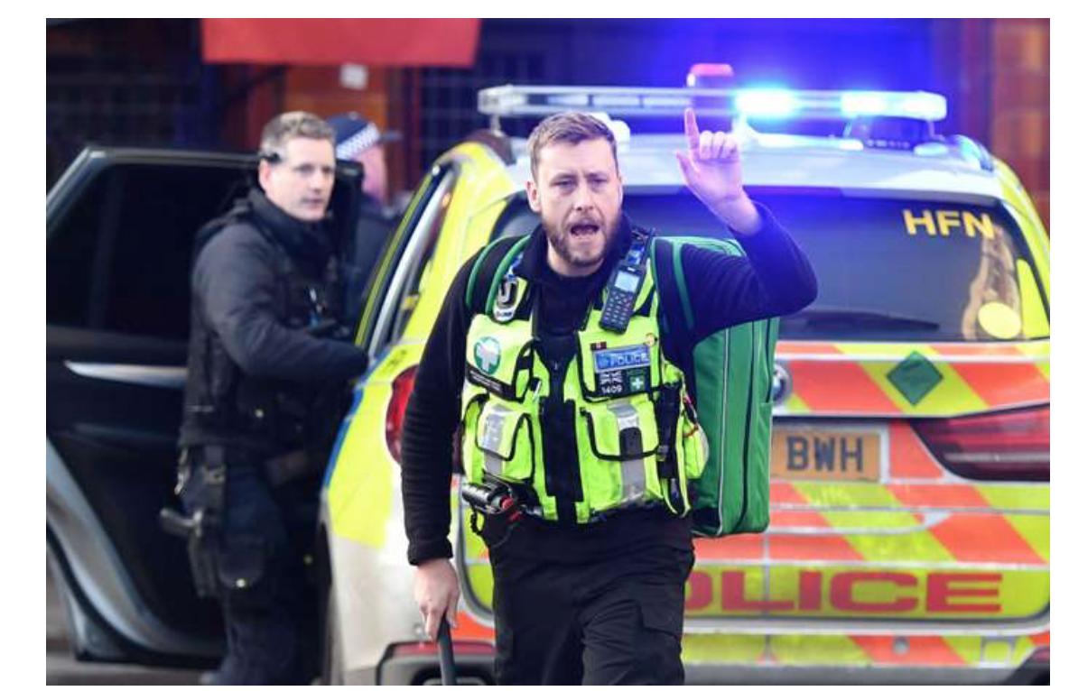 Londres : attaque terroriste au couteau sur le London Bridge, 5 blessés