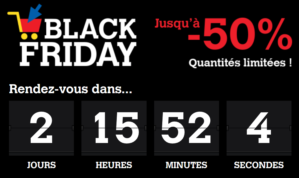 Gaulois, barbus, voilées…  enfin réunis pour le «Black Friday» !